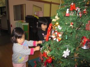 クリスマスの準備をしているよ☆☆