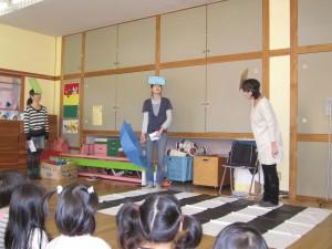 交通安全教室がありました。