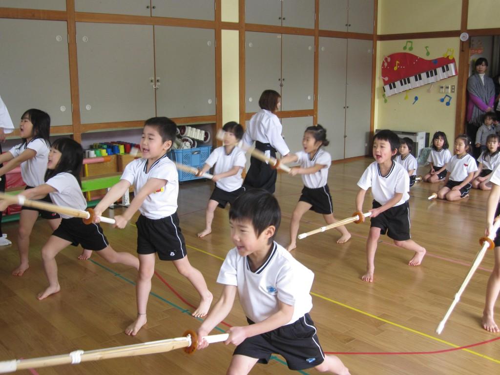 【つばめ組】 剣道発表会がありました