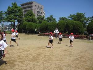 みんなで四ツ井公園に行ったよ!