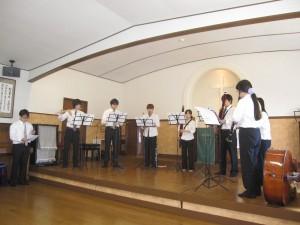 福井大学フィルハーモニー管弦楽団コンサートがありました。