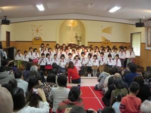 幼稚園クリスマス会がありました☆