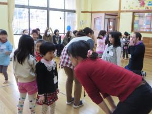 つばめ組保育参観・英語参観・懇談会がありました。