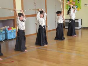剣道がありました
