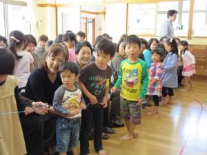 おじいちゃま、おばあちゃまが幼稚園に来てくれました!