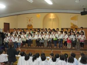 幼稚園クリスマス会がありました