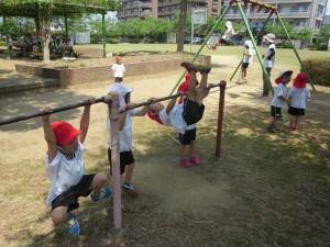 金町公園に行きました!