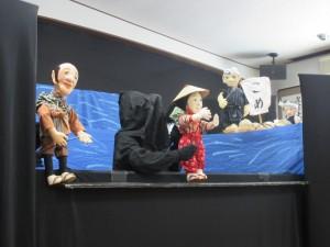 人形劇がありました。