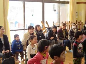 年中・ひよこ組の英語参観がありました。