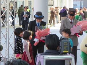 福井駅西口広場開業式典に参加しました!