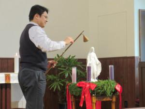 アドベント礼拝・点灯式がありました。