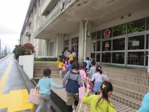 旭小学校へ行ってきました!