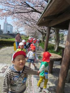四ツ井公園にいきました!