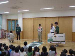 クロネコヤマトの交通安全教室がありました。