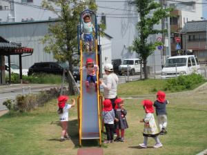 手寄公園に行こう。