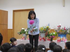 花の日礼拝、慰問がありました。