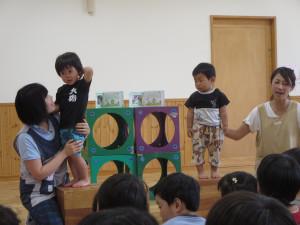 6月のお誕生会がありました。