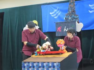 とぴア さんの人形劇を見ました!