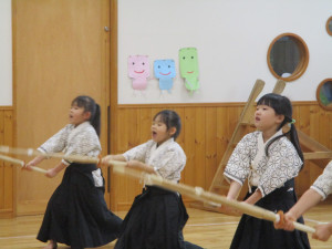 剣道発表会がありました!