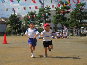 旭小学校の運動会、城勝公園に行ってきました!