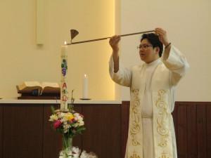 イースター礼拝を守りました