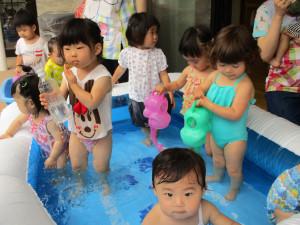 あがっぺ水遊び№2