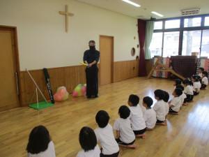 初めての剣道がありました。